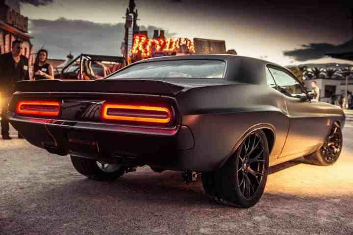 Dodge Shakedown Challenger sema 2016