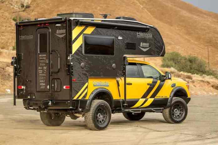 Hellwig Nissan Titan XD Camper Truck