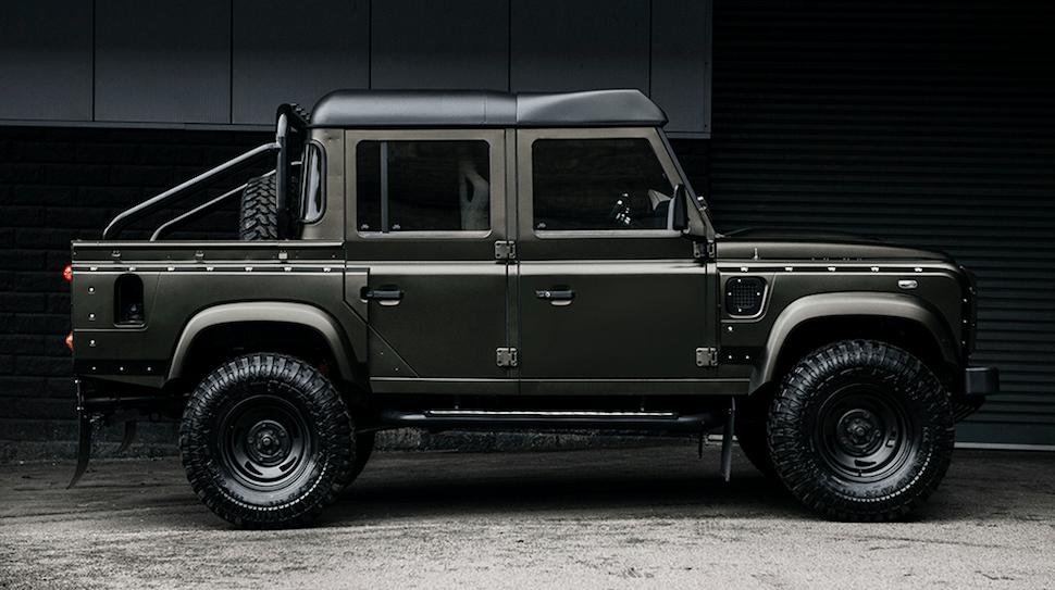 Land Rover Defender 110 Pickup Project Kahn front