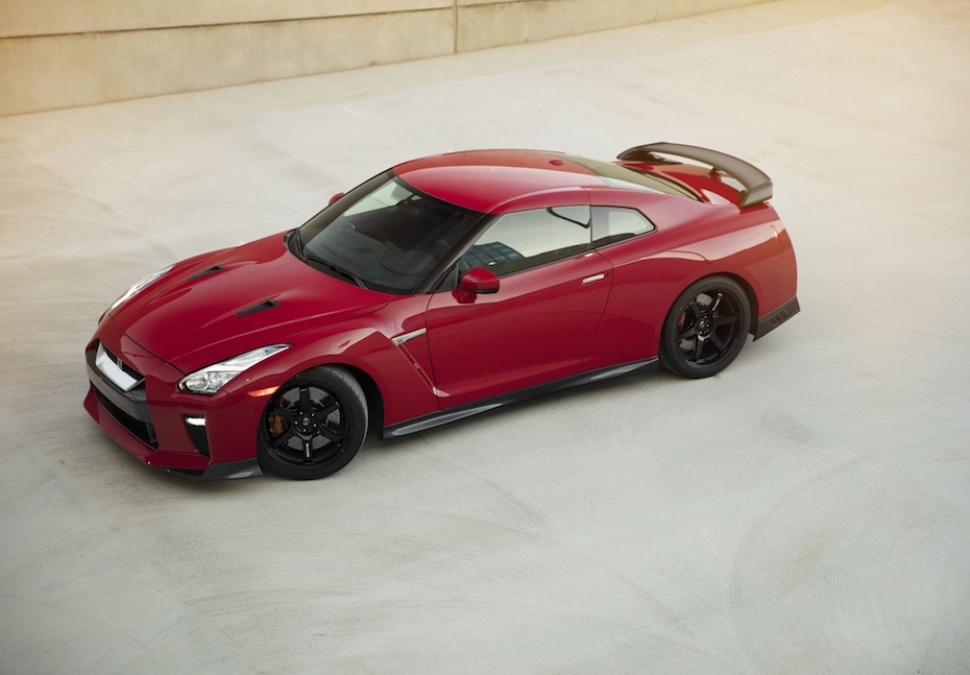 Nissan GT-R Track Edition front