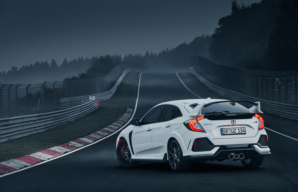 2017 Honda Civic Type R Nürburgring