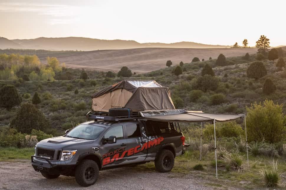 Nissan TITAN XD PRO-4X Project Basecamp
