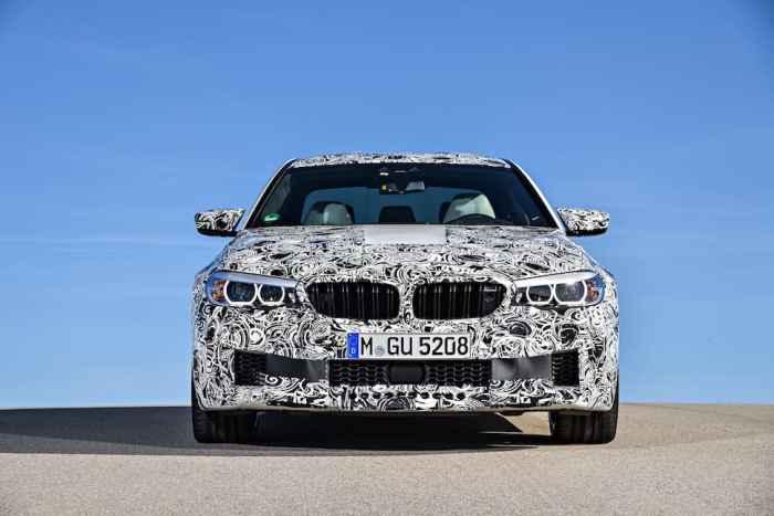 2018 BMW M5 Sneak Peak