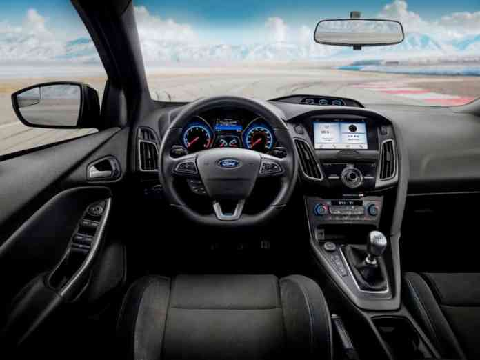2018 limited edition focus rs interior