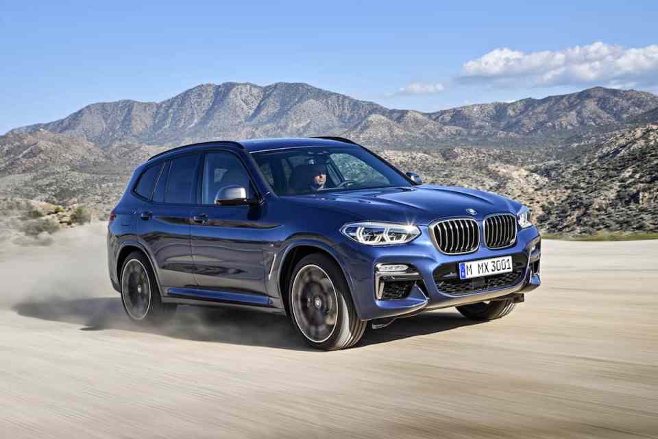2018 BMW X3 front rolling