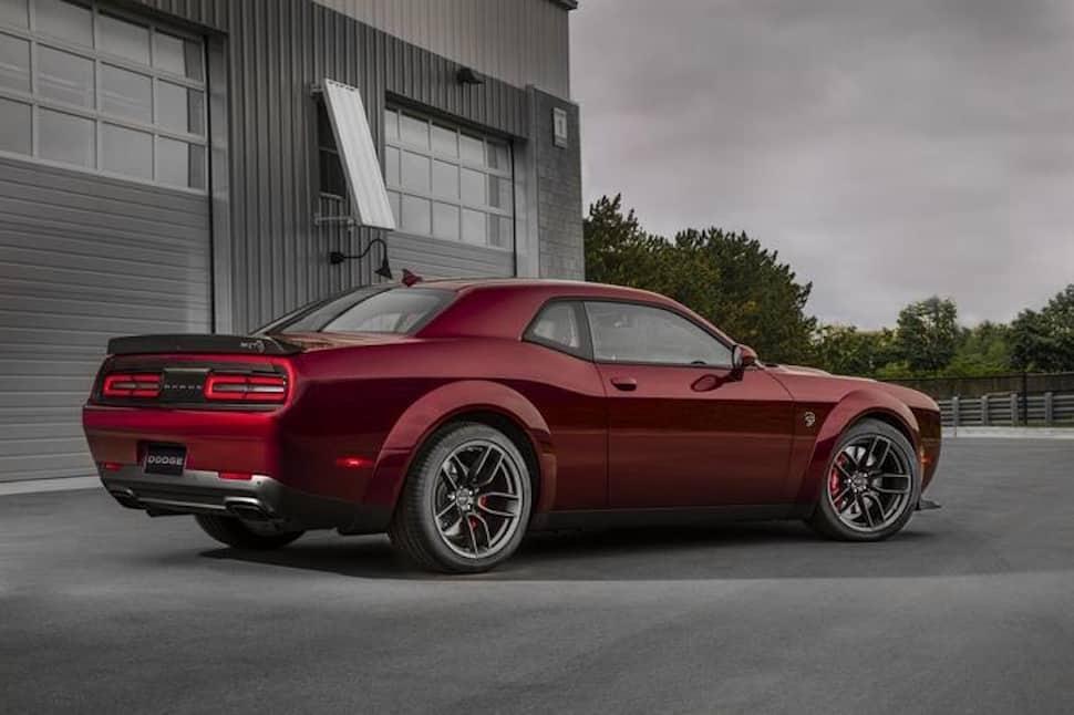 2018 Dodge Challenger SRT Hellcat Widebody rear