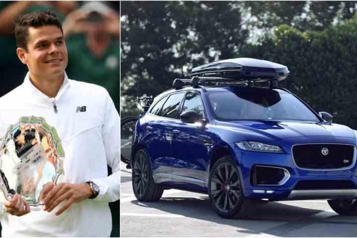 World's 7th Seed Tennis Champ Milos Raonic and Jaguar Partner Up