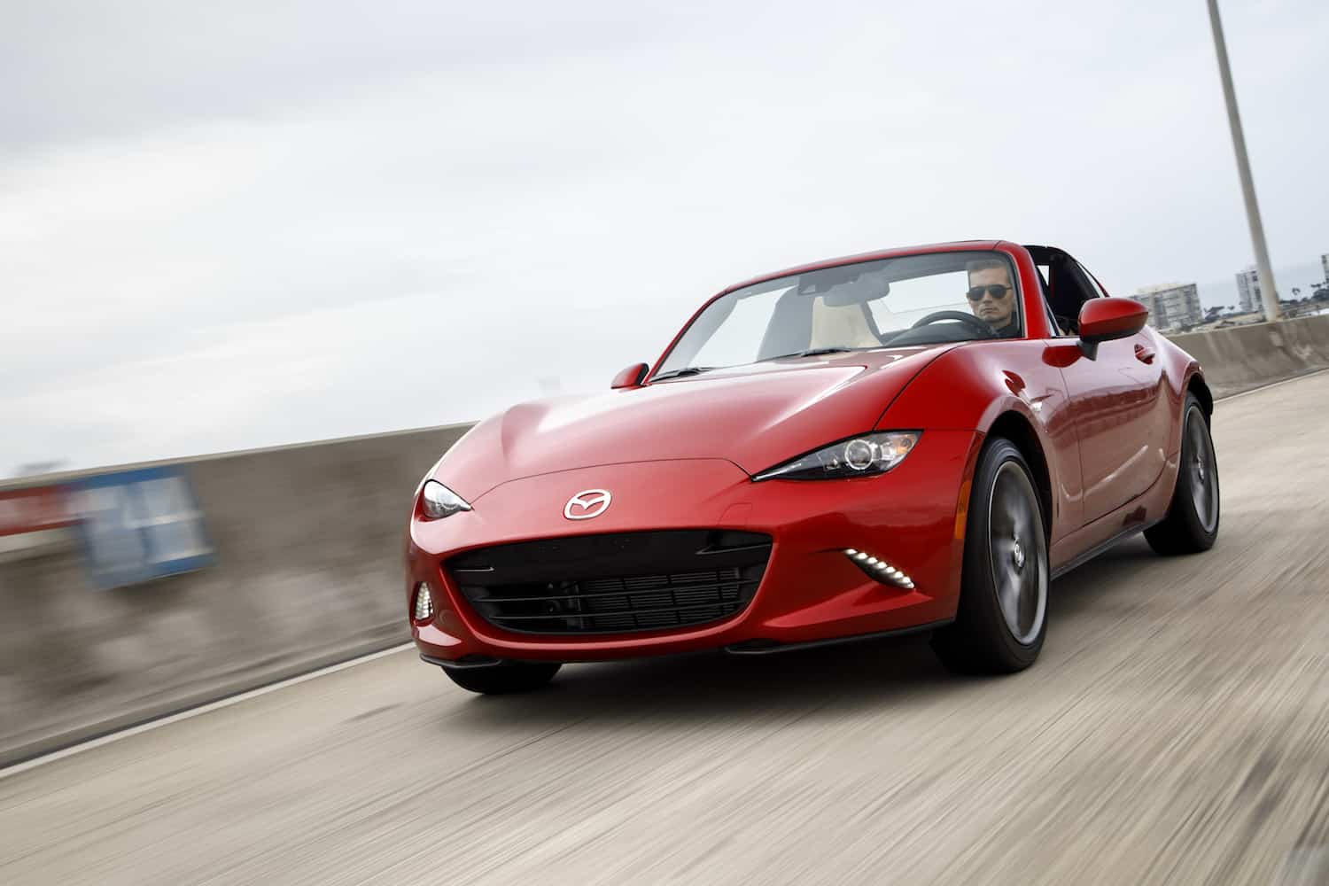 2017 Mazda MX-5 RF review rolling front