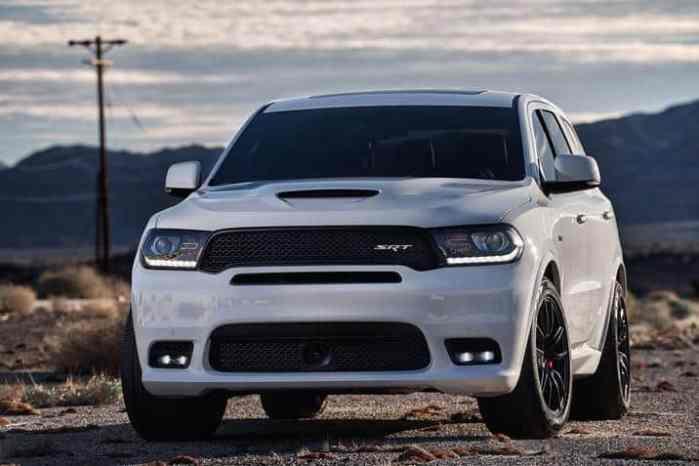 2018 Dodge Durango SRT front