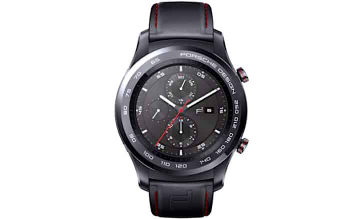 Porsche Design Huawei Watch 2 front face
