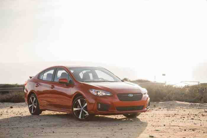 2017 Subaru Impreza review front view