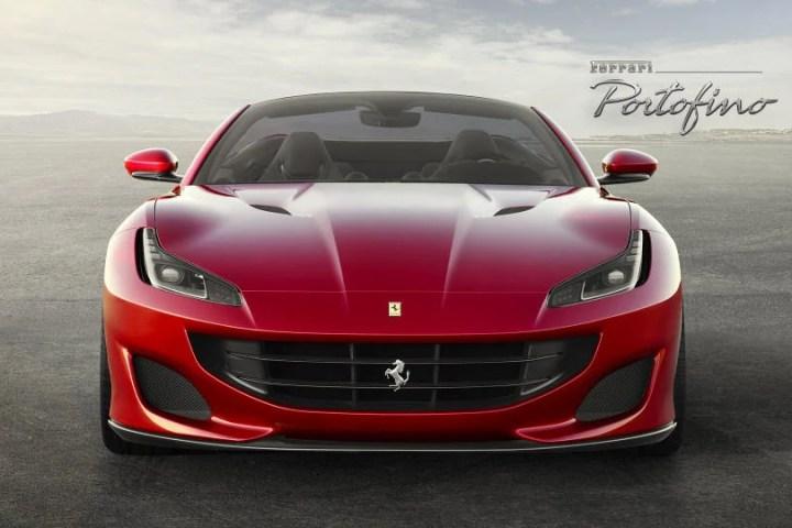 2018 Ferrari Portofino front grill
