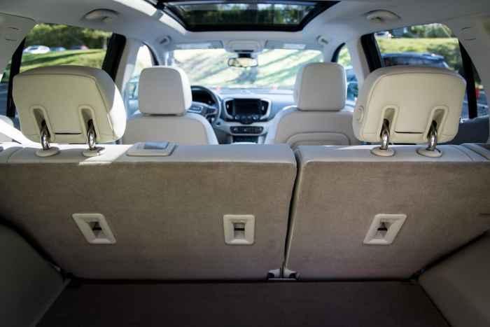 2018 GMC Terrain rear cargo 2