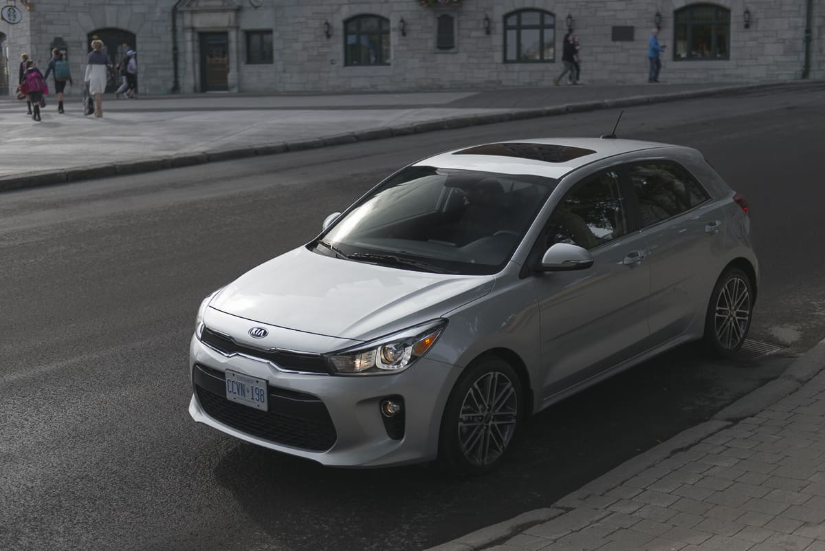 2018 kia hatchback. interesting hatchback 2018 kia rio 5door hatchback review amee reehal 1 of 22 throughout