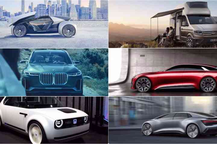 6 Best Concepts and Future Cars from the Frankfurt Motor Show Preview Day