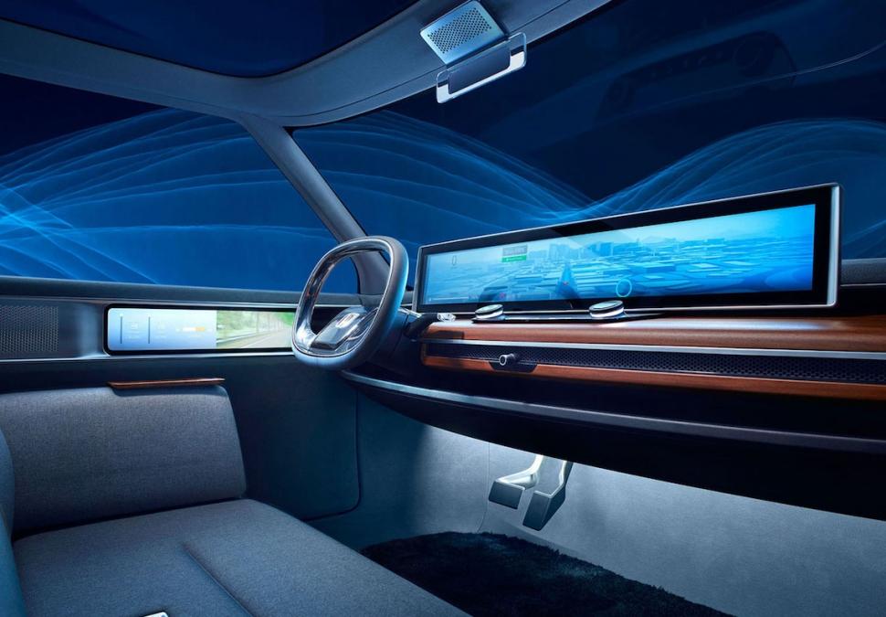 Honda Urban EV interior