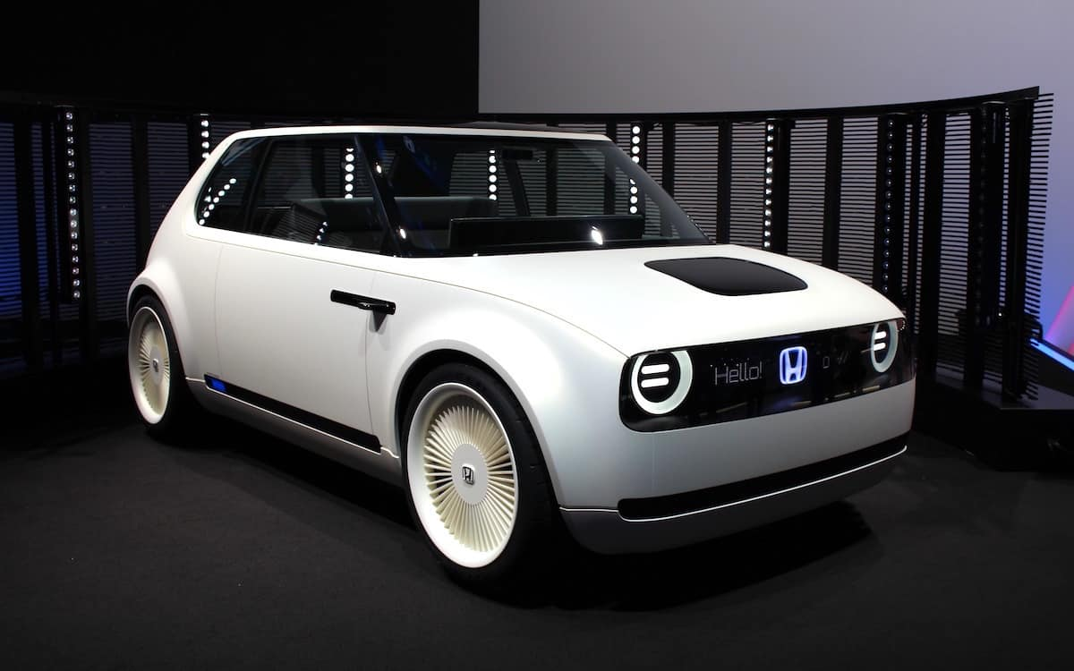 Honda's Tiny Urban EV Concept Hits Production Line in 2019
