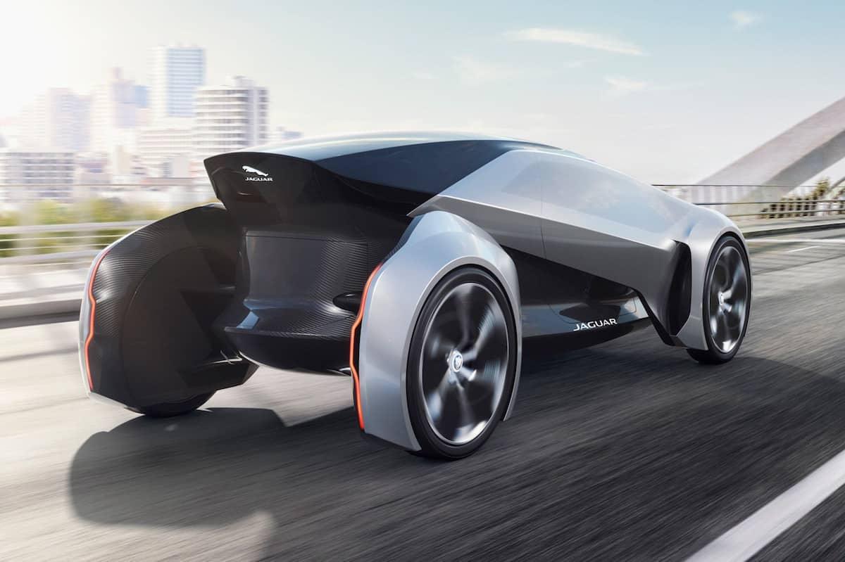Jaguar Future-Type Concept rear