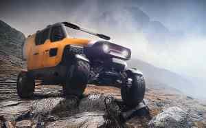 Surgo Mountain Rescue Vehicle front