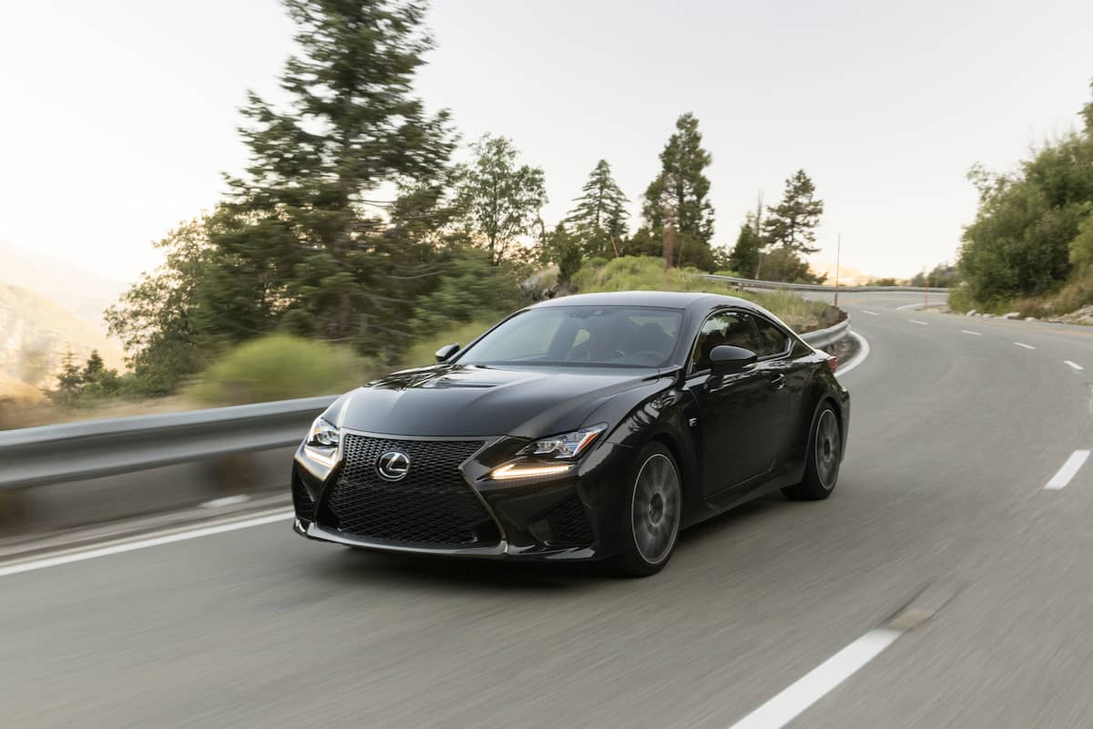 2017 Lexus RC F Review front rolling