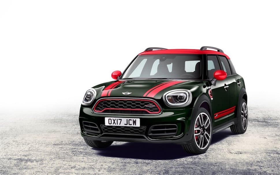 2017 Mini Clubman John Cooper Works front grill
