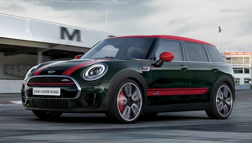 2017 Mini Clubman John Cooper Works front
