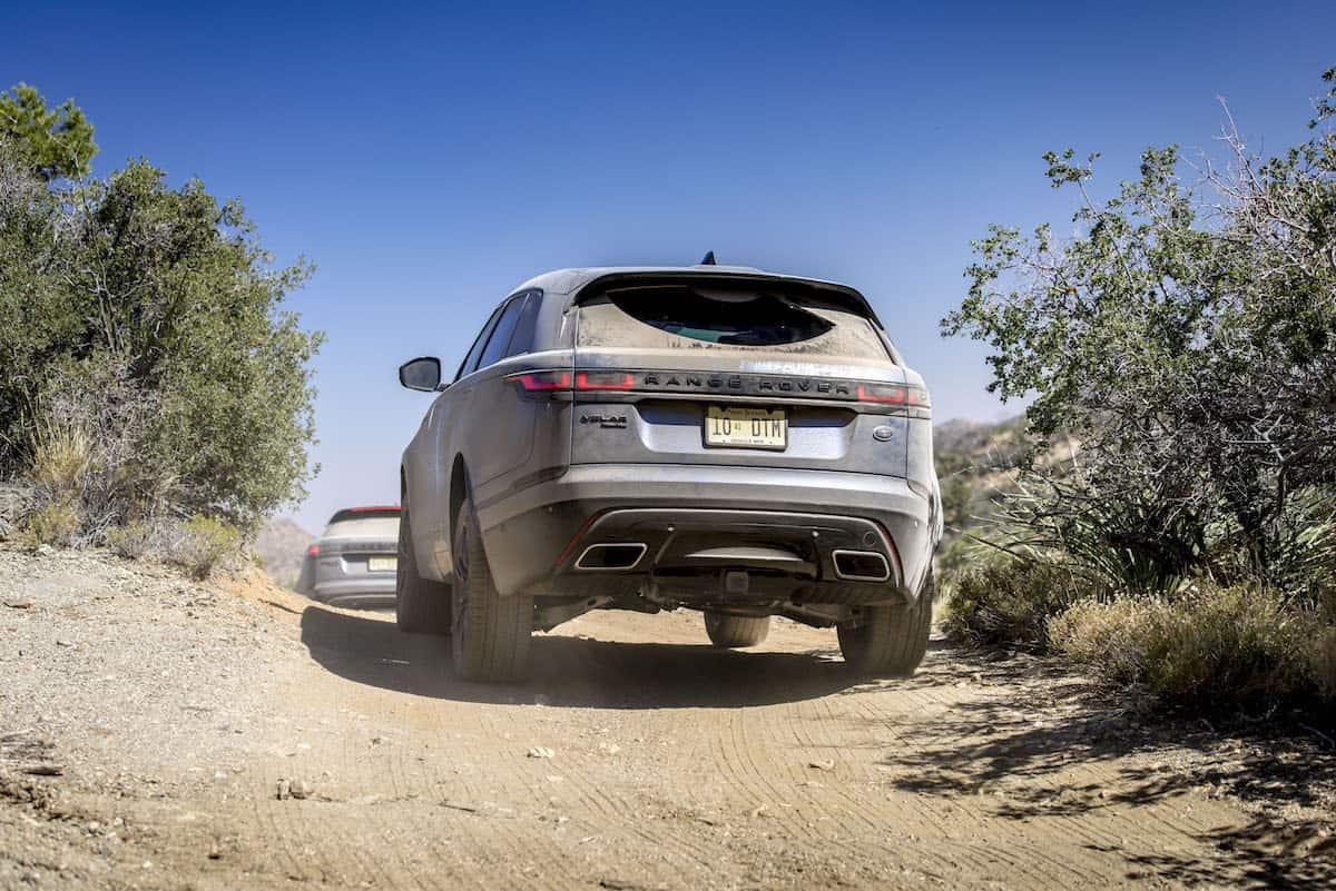 2018 range rover velar review off road rear