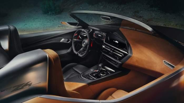 2019 BMW Z4 concept cockpit