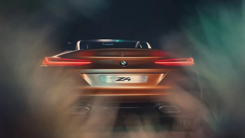 2019 BMW Z4 concept rear lights