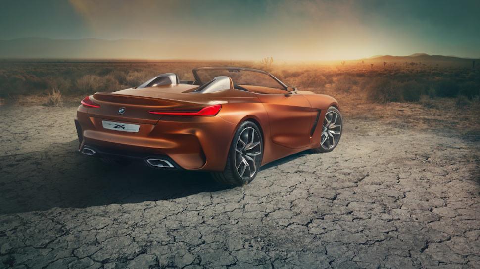 2019 BMW Z4 concept rear