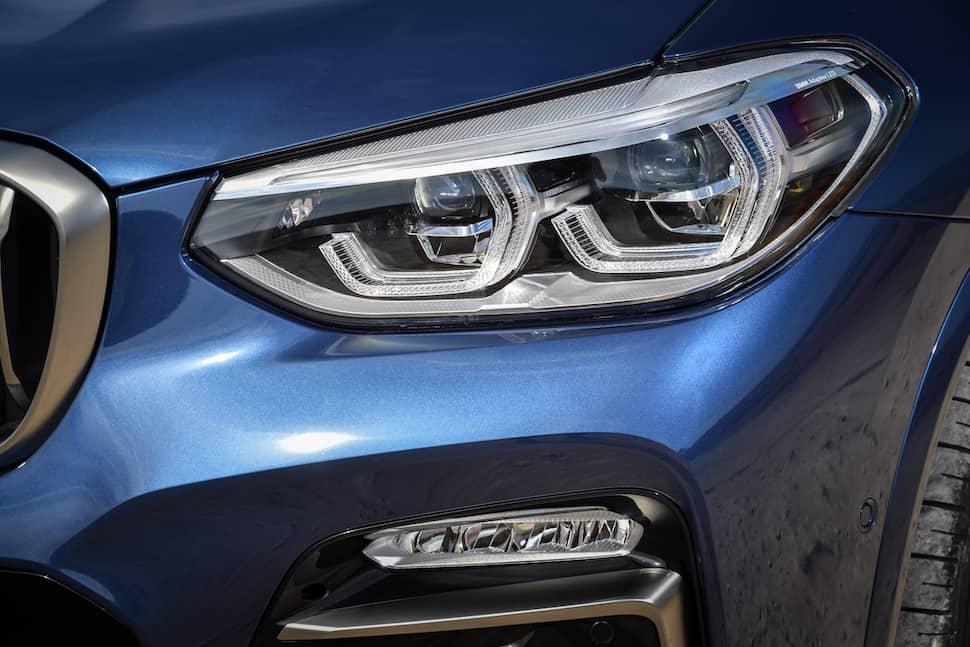 all-new 2018 bmw x3 m40i m performance headlight