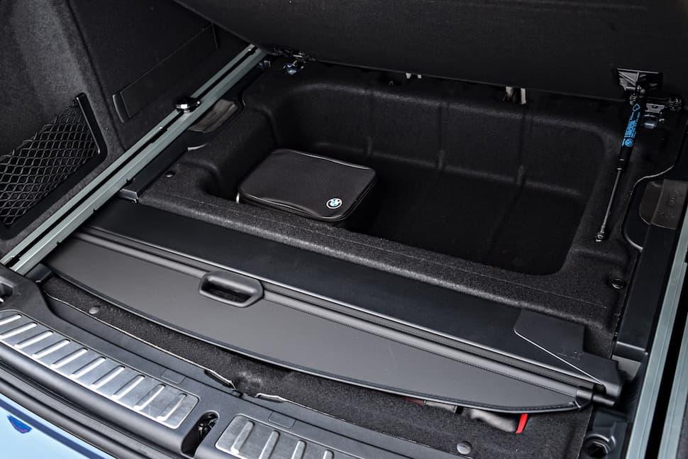 all-new 2018 bmw x3 m40i m performance rear cargo storage