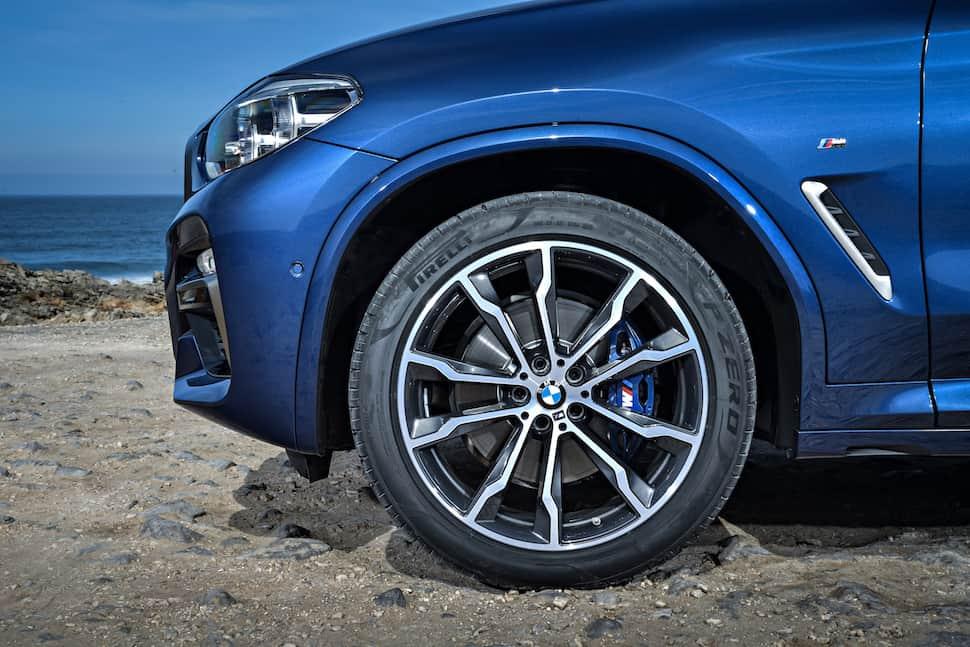 all-new 2018 bmw x3 m40i m performance wheel