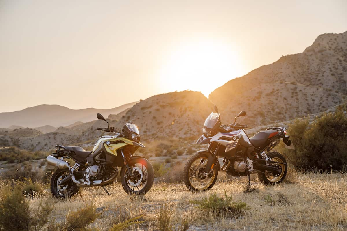 2018 F 750 GS and F 850 GS
