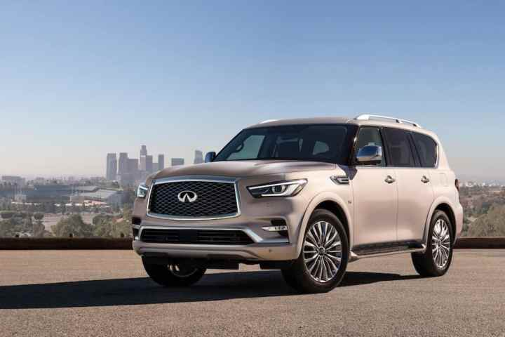 New 2018 Infiniti QX80 Debuts in Dubai: Price Set at US$64,750