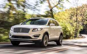 2019 Lincoln MKC white front rolling