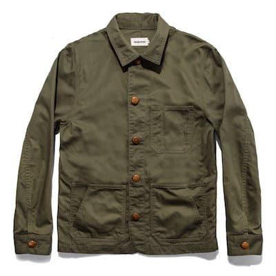 OJAI jacket olive taylor stitch