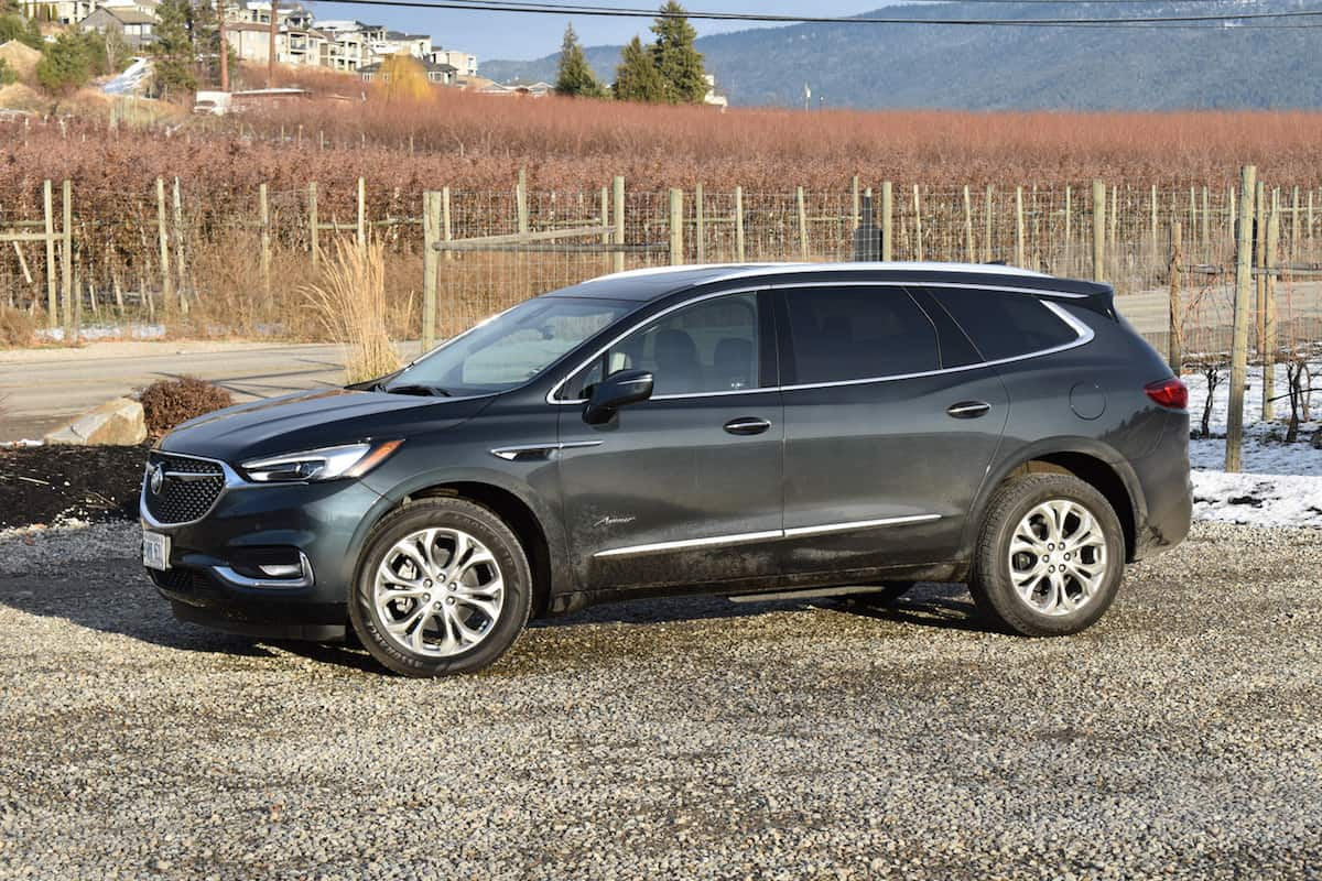 2018 Buick Enclave First Drive Review front view side angle