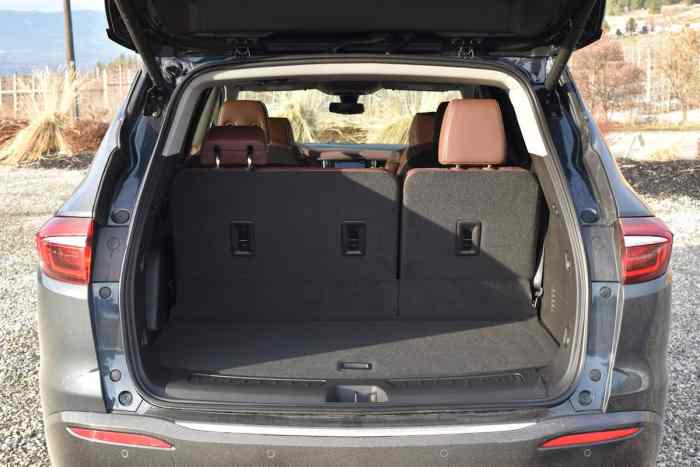 2018 Buick Enclave First Drive Review rear cargo space