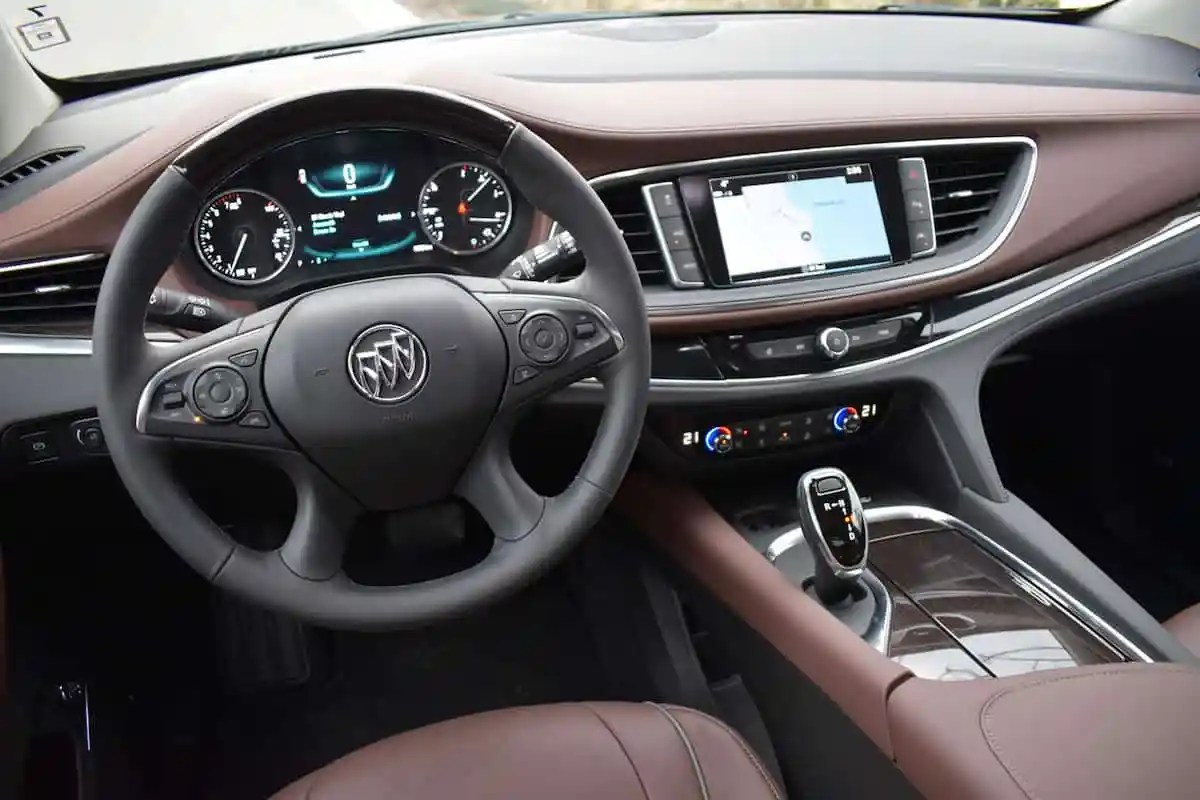 2018 Buick Enclave First Drive Review front dash