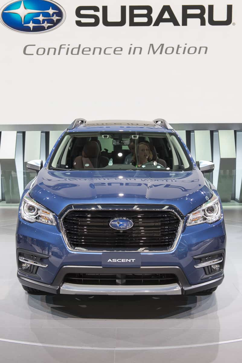 The New Subaru SUV is Here: 2019 Ascent Release Date Set ...
