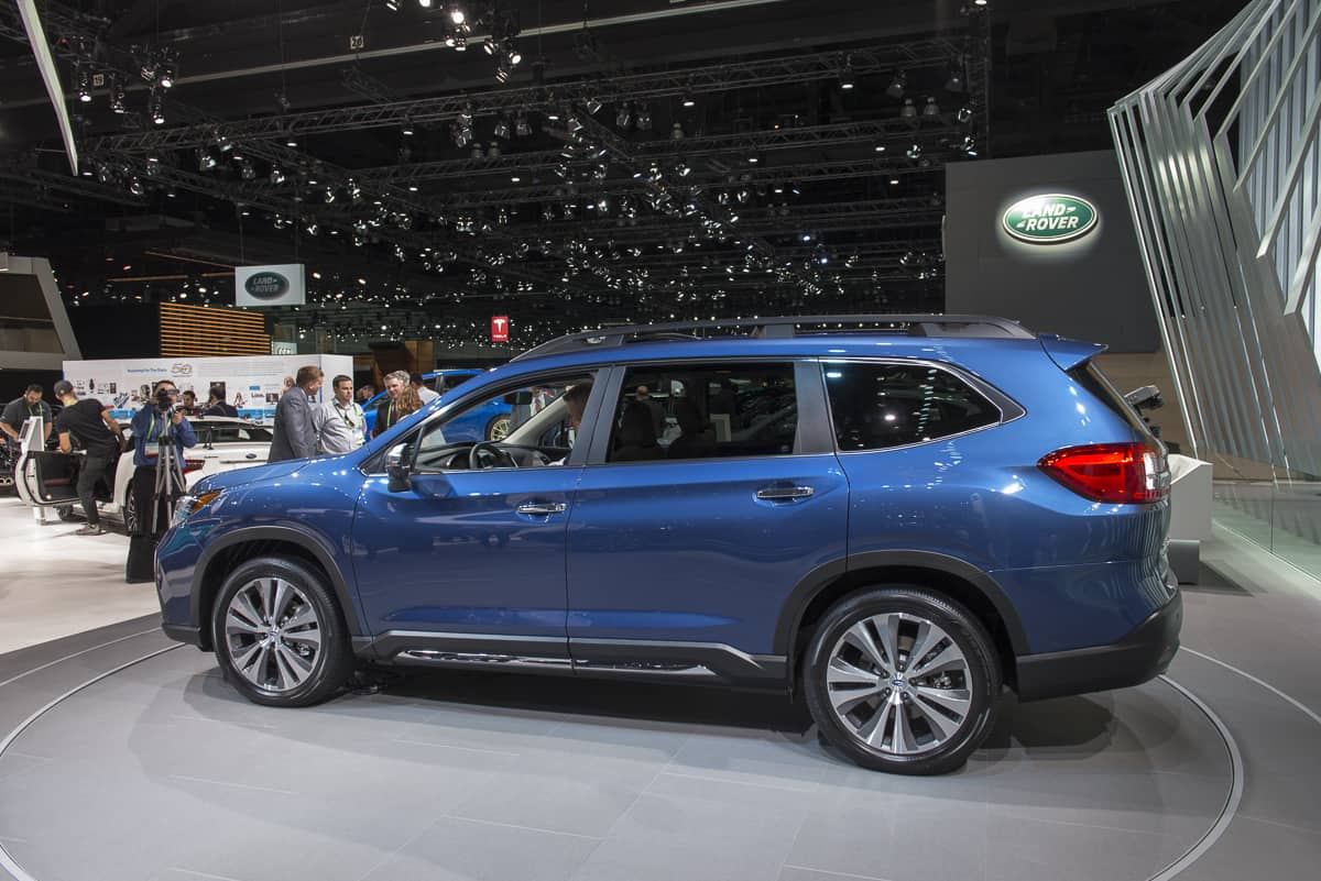 Subaru Forester Cargo Space >> The New Subaru SUV is Here: 2019 Ascent Release Date Set ...
