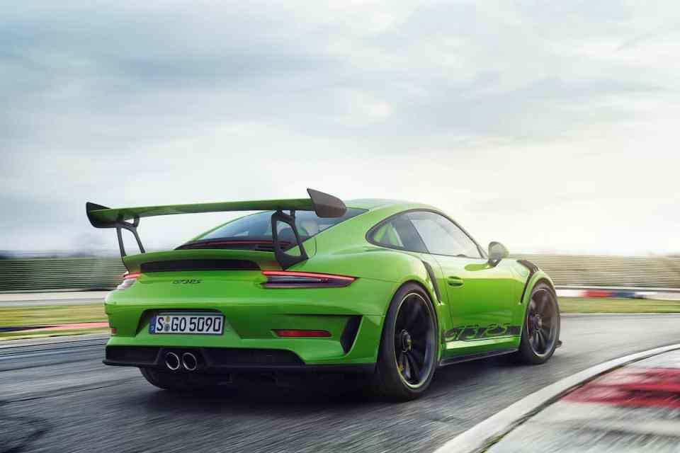 2019 Porsche 911 GT3 RS rear