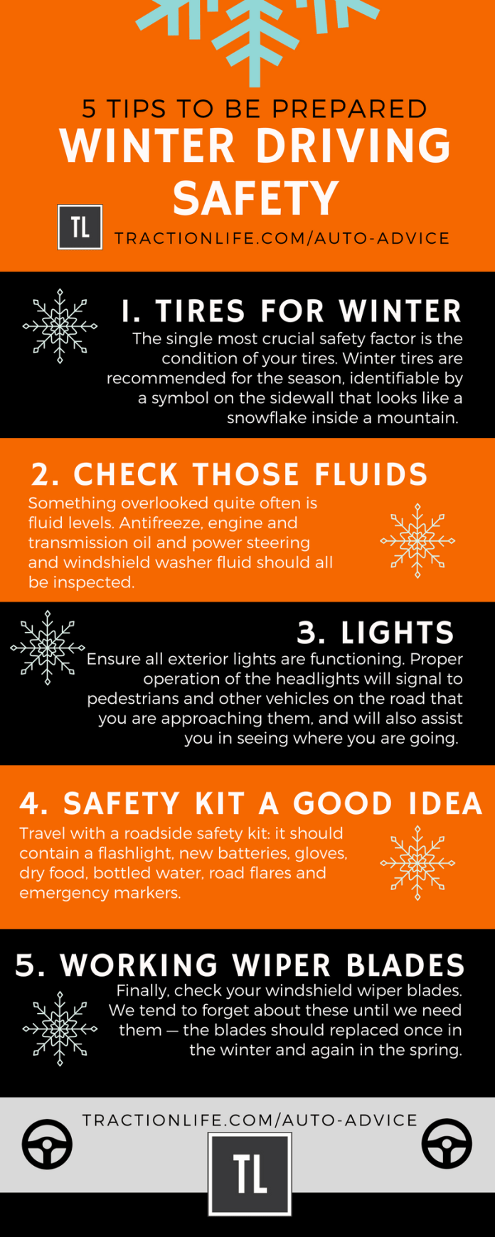 winter driving safety tips tractionlife