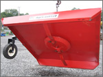 Tractor Brush Hog - Bottom View