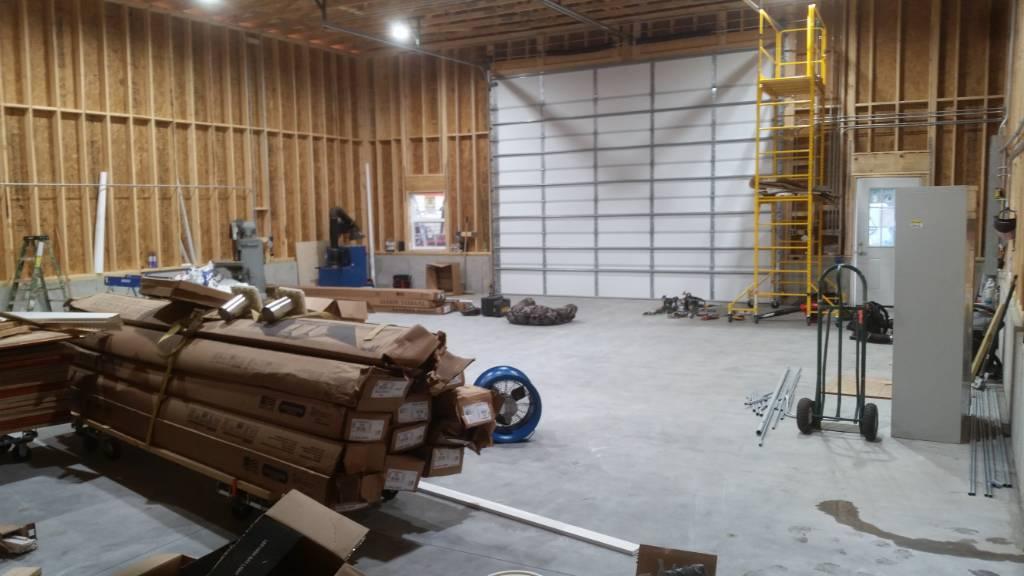 lighting for new pole barn