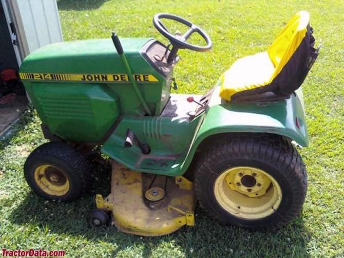 tractordata john deere 214 tractor information