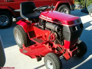 TractorData Wheel Horse 3128 tractor photos information