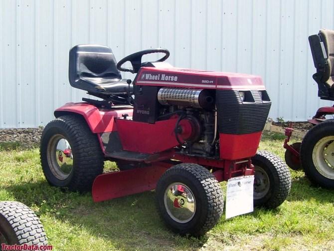 tractordata wheel horse 520h tractor information