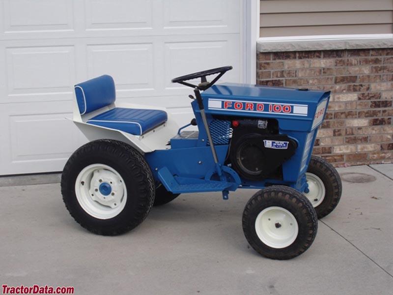 Ford Lgt Garden 120 Tractor